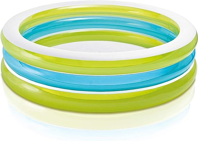 Intex - Piscina hinchable transparente 203 x 51 cm - 742 litros ...