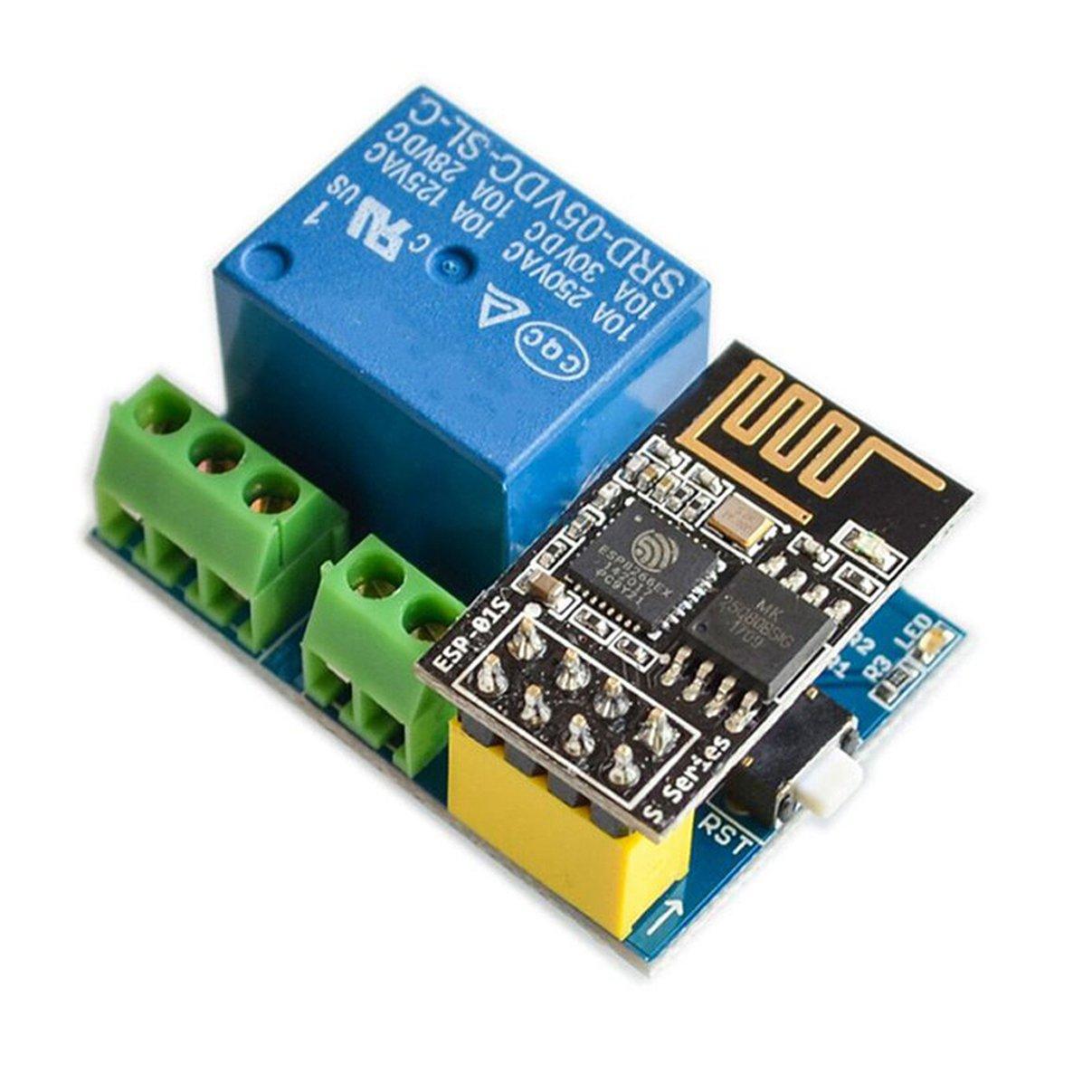 Amazon com: TOOGOO ESP8266 ESP-01S 5V WiFi Relay Module Things Smart