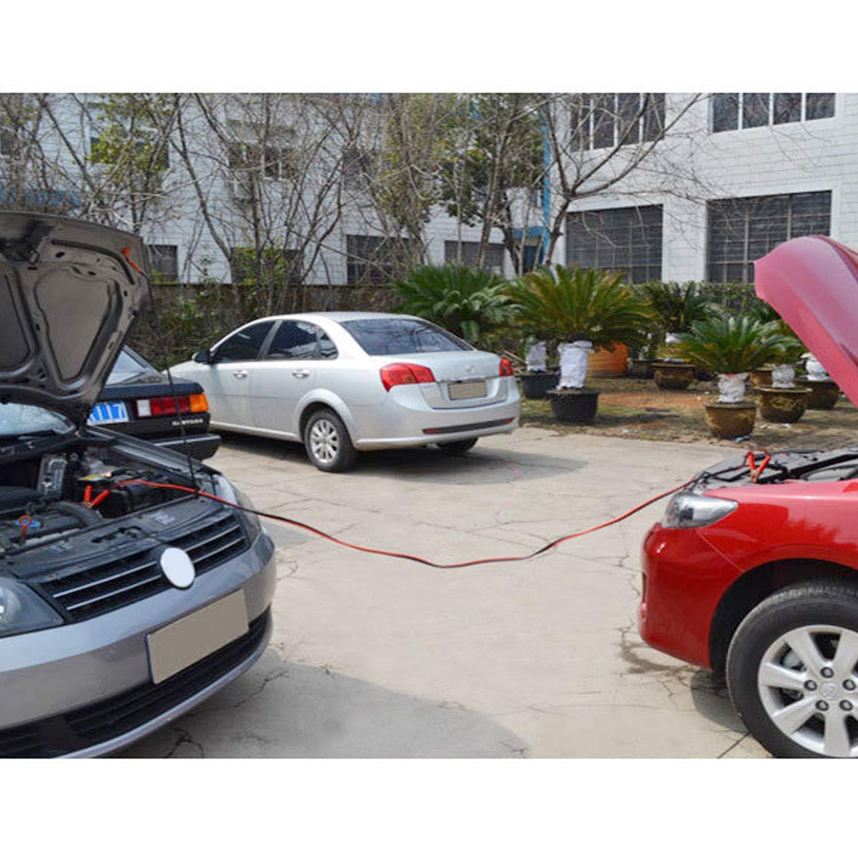 Cavo Jumper per Auto,Vococal Cavo Batteria Auto Cavo Ponticelli Batteria da 2.5 M 500 Amp con Borsa per Auto