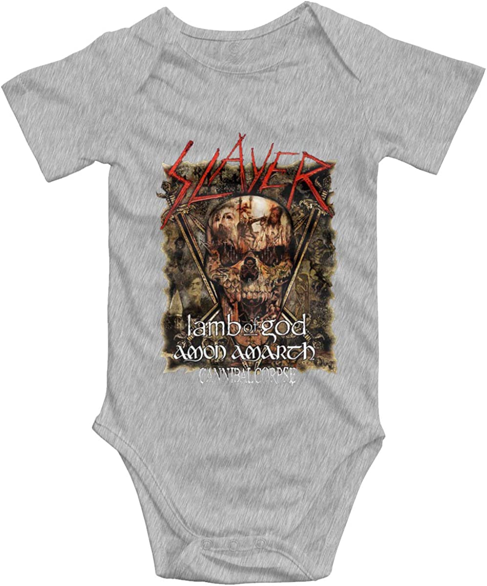 Chouven Baby Cannibal Corpse Long-Sleeve Bodysuits Toddler Boys Girls Playsuits