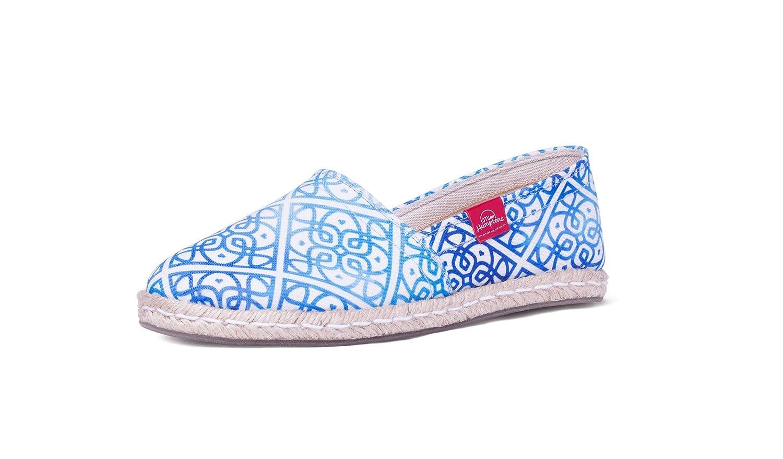 MISS HAMPTONS Alhambra, Espadrillas Basse Donna blu blu blu 6064b3