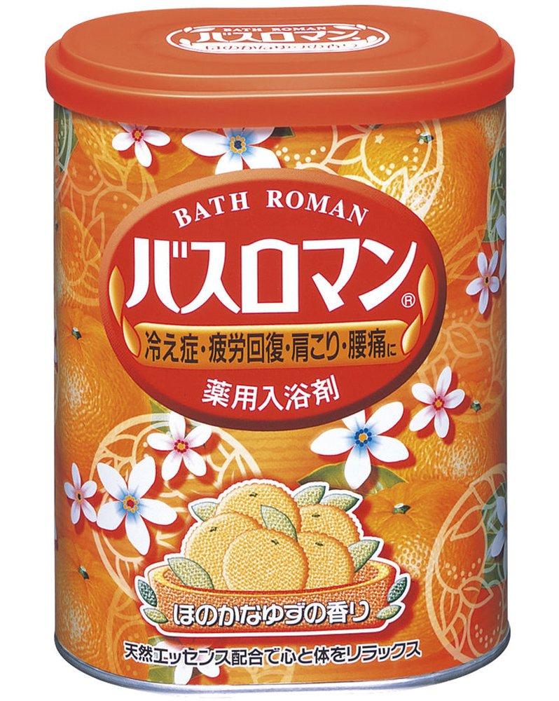 Bath Roman Yuzu Japanese Bath Salts - 850g (japan import) Seiyaku 4901080535917