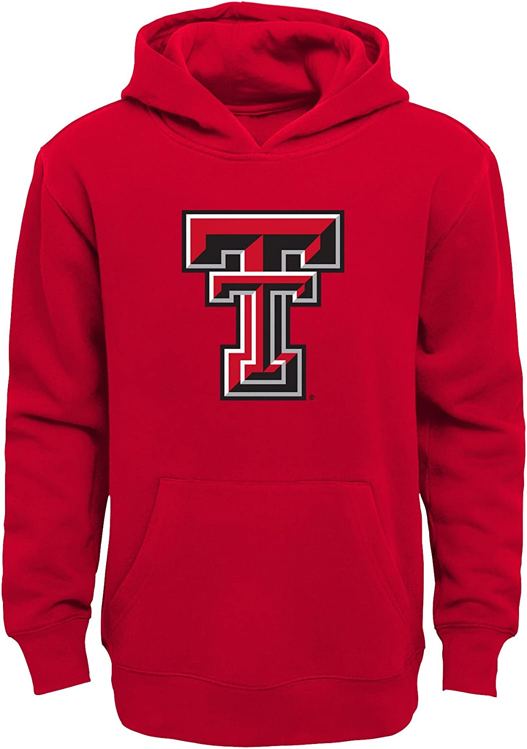 Kids Medium 5-6 Red NCAA by Outerstuff Boys Little NCAA Kids /& Youth Team Logo Pullover Hoodie
