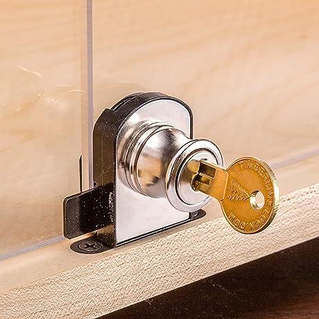 Double Door Deadbolt Lock - Cabinet And Furniture Locks - Amazon.com