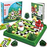 Nueplay Kids Smart Board Games Skill-Building Brain Logic Game STEM Educational Learning Toys Family Party Travel Games 48 Fu