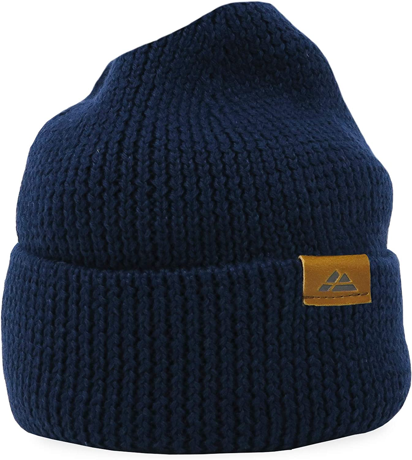 DANISH ENDURANCE Classic Beanie for Men /& Women Unisex Cuffed Plain Knit Hat Merino Wool /& Recycled Materials Blend