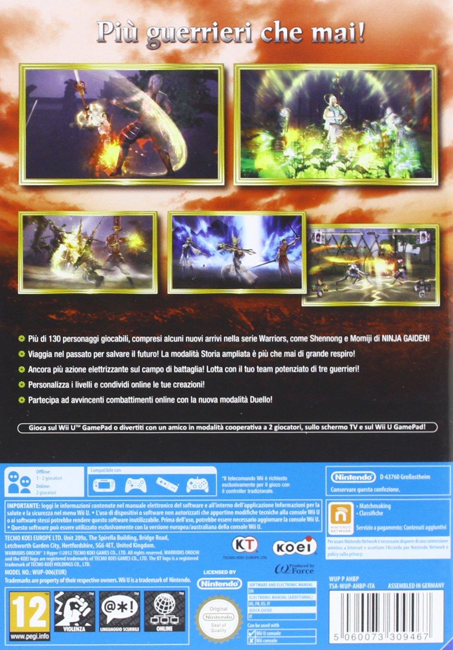 Warriors Orochi 3 [Importación italiana]: Amazon.es: Videojuegos