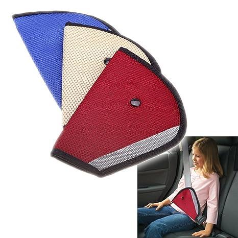 Todos los cinco estrellas coche niño tapa de seguridad Arnés Correa Cinturón de Seguridad Ajustador Pad