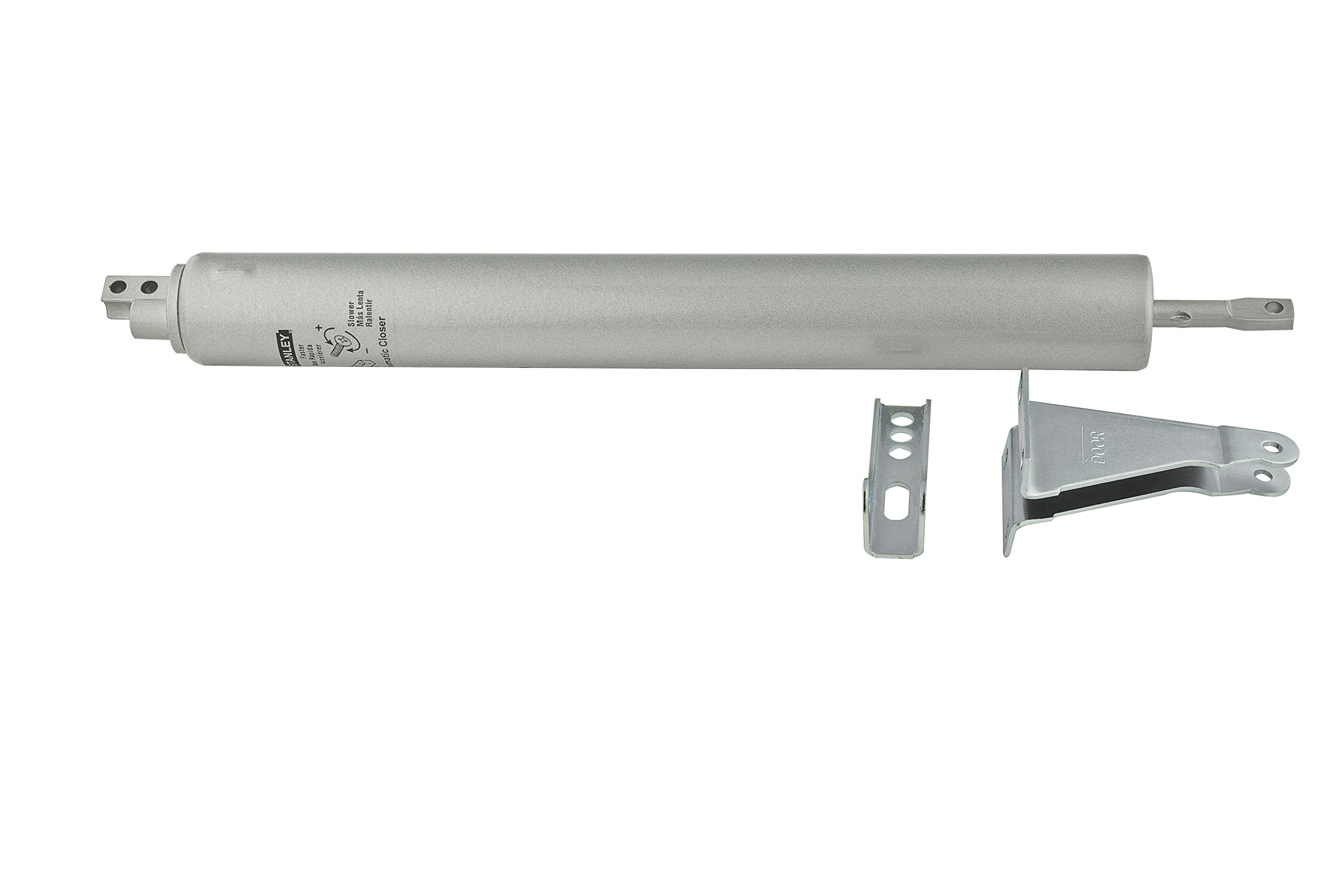 Stanley Hardware S748-300 CD1708 Air-Controlled Door Closer in Clear Coated Aluminum