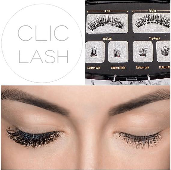 Magnetic Eyelashes Clic Lash Natural Look Lashes Reusable Full