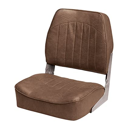 Amazon.com : Wise 8WD734PLS-716 Low Back Boat Seat, Bark Brown ...