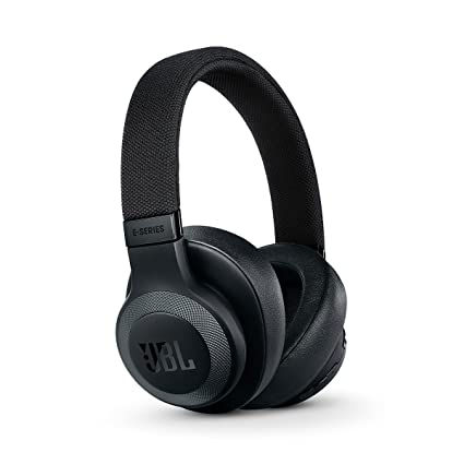 JBL E65 - Auriculares inalámbricos con Bluetooth y cancelación de ruido activa, Botón como control