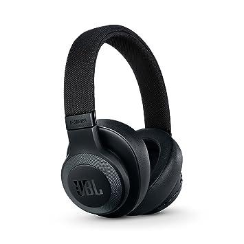 JBL E65 - Auriculares inalámbricos con Bluetooth y cancelación de ruido activa, Botón como control remoto incorporado, Sonido JBL, negro: Amazon.es: ...