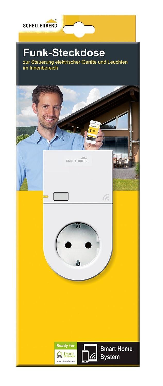 Schellenberg Smart Home Steckdose Funk für innen | steuerbar per ...