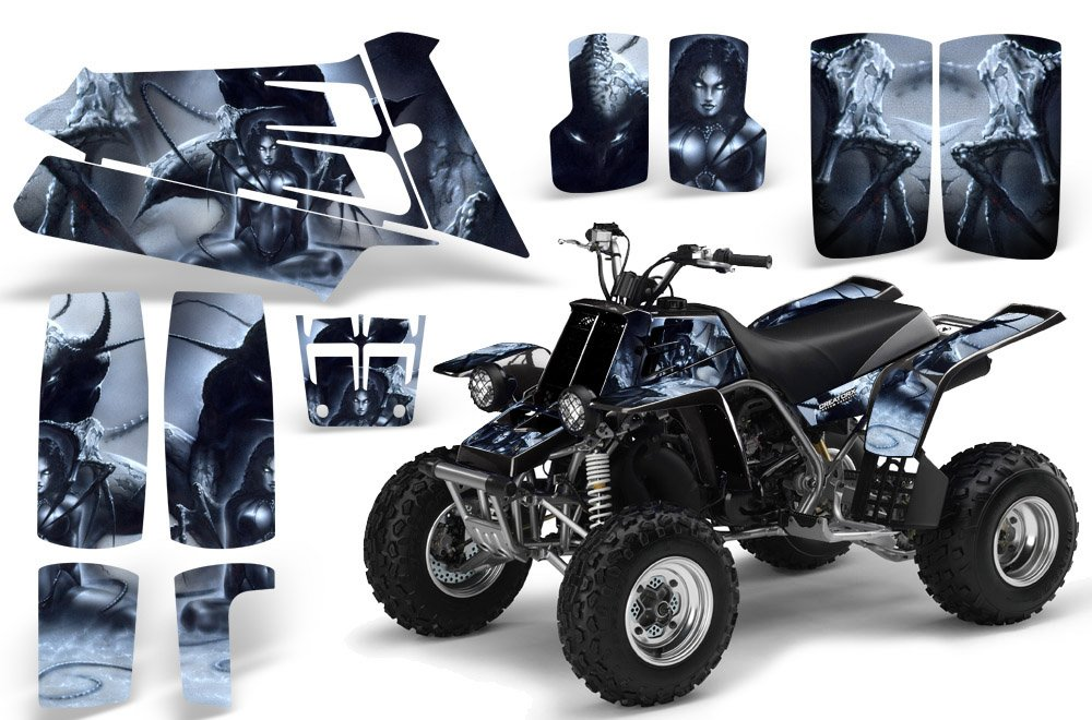 CreatorX Yamaha Banshee 350 Graphics Kit Spell Silver