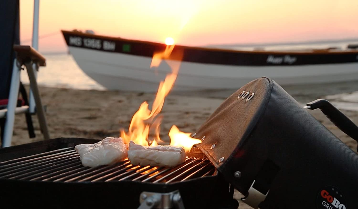 Boating Hunting Hiking Travel Perfect for Camping Biking Fishing College Students Tailgating GoBQ Portable Charcoal Grill RVs The Beach Fits in a Backpack Urbanites and Gifting