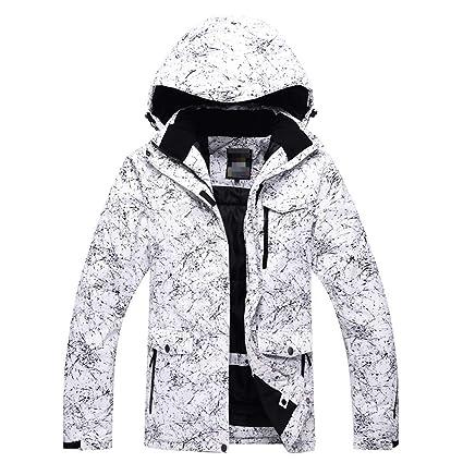 Chaqueta de esqui Chaqueta de esquí con capucha impermeable ...