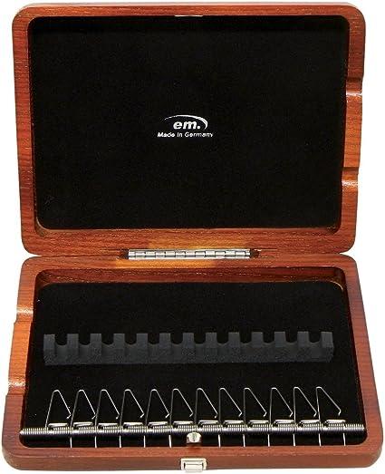 GEWA 751046 - Estuche cañas oboe, 12 cañas lacado marrón rojo: Amazon.es: Instrumentos musicales