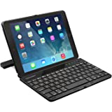 iPad Air 2 Bluetooth Keyboard Case, TeckNet® Ultra-Slim Apple iPad Air Wireless Keyboard Cover (US Keyboard Layout) with Built-in Stand Groove For Apple iPad Air 2nd Generation