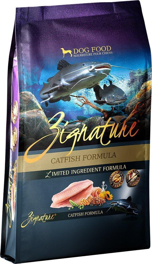 Zignature Catfish Formula Dry Dog Food, 4 lb. bag. Fast Delivery, by Just Jak's Pet Market