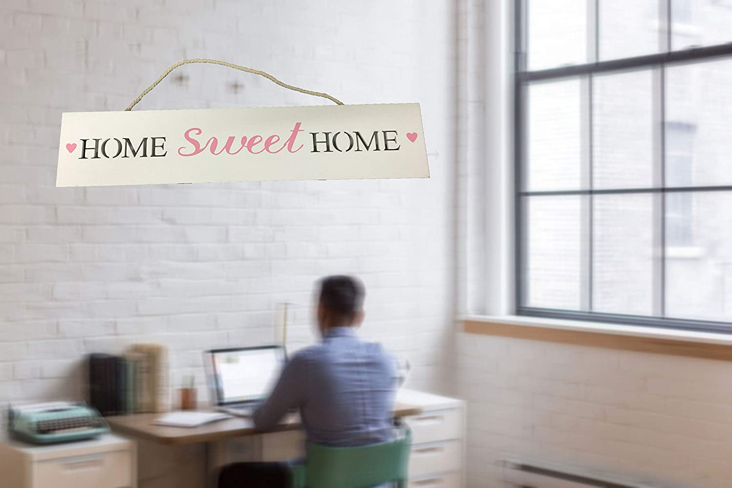 Creative Motion Battery-Operated Home Sweet Home Lighted Sign
