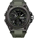 Military Watches for Men Outdoor Sports Digital Watch Tactical Army Wristwatch LED Stopwatch Waterproof Military Watches for