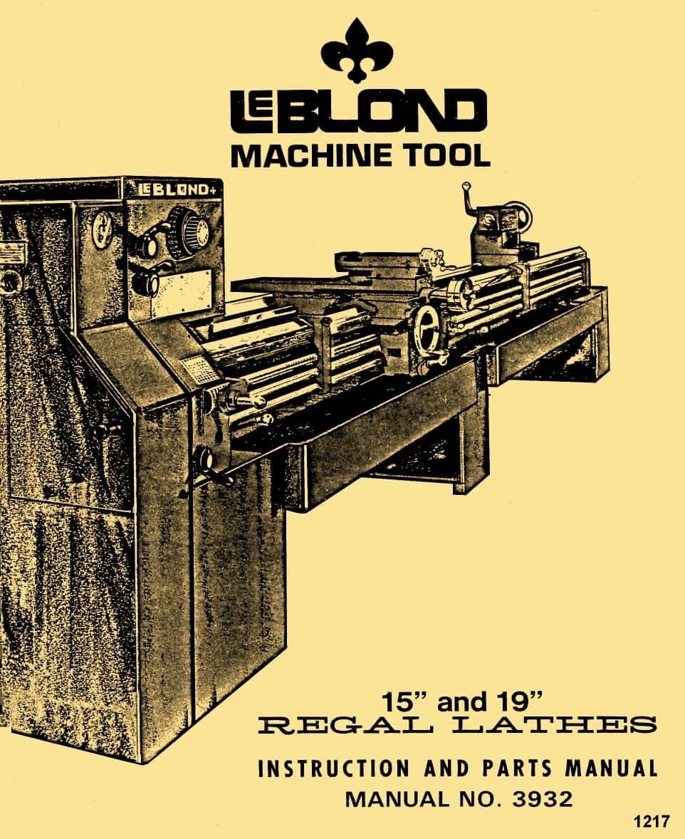 WRG-5660] Leblond Lathe Wiring Diagram