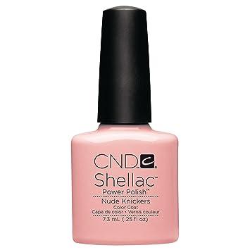 Amazon Cnd Shellac Nail Polish Nude Knickers 012 Lb Luxury