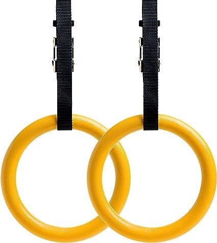 4 Stück Gymnastic Ring Turnringe Gymnastikringe Cross Fitness Ringe 120KG