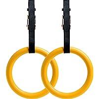 REEHUT Gymringen gymnastiekringen fitnessringen Olympische Rings turnen verstelbare nylon banden metalen gespen antislip…