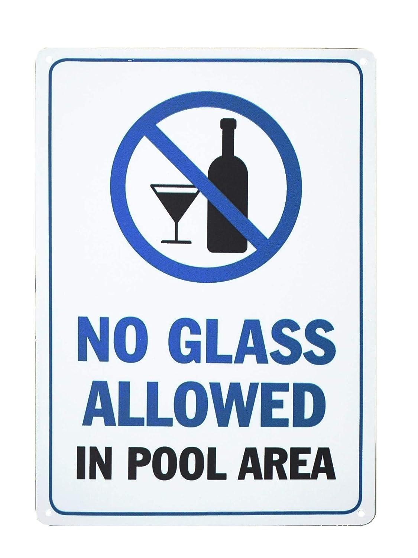 Amazon.com: Señal de seguridad Monifith para piscina, sin ...
