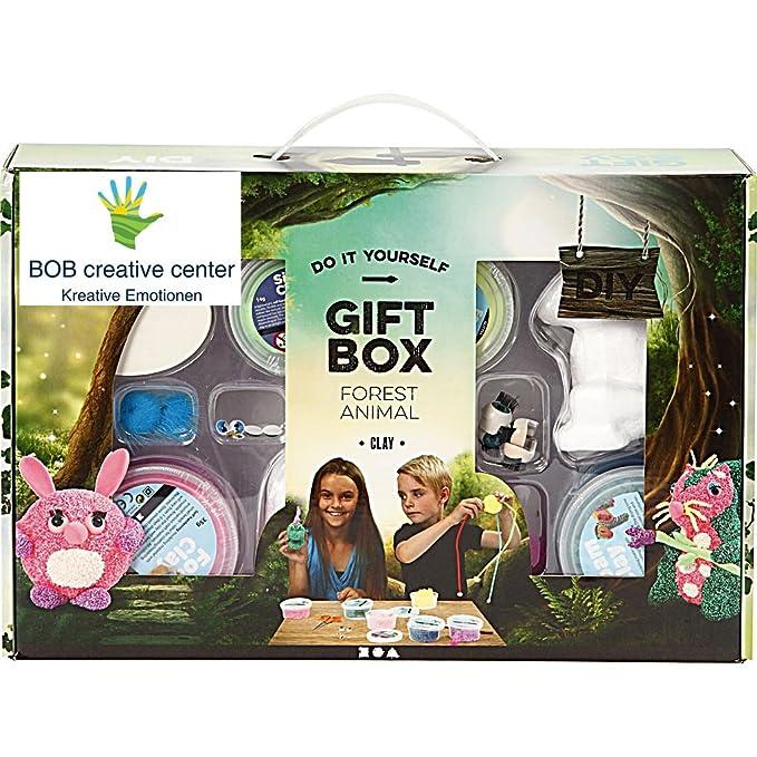 BOB Wolkenslime Kreative Geschenk-Set -Animals: Amazon.de: Spielzeug