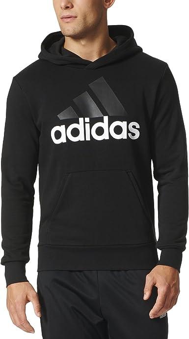 Grave Condimento marxista  Amazon.com: adidas Men's Essential Linear Logo Pullover Hoodie: Clothing