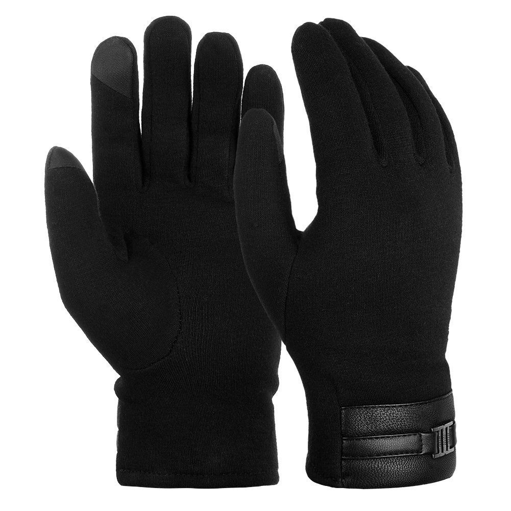 Vbiger Cycling Gloves Windproof Touchscreen Gloves Mens Winter Gloves Mittens