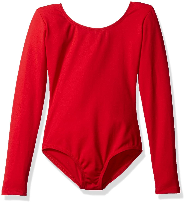 Capezio Dance Girls' Long Sleeve Leotard TB134C (Set of 2)