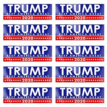 10x Trump Keep America Great 2020 President Election Decal Car Bumper Stickers
