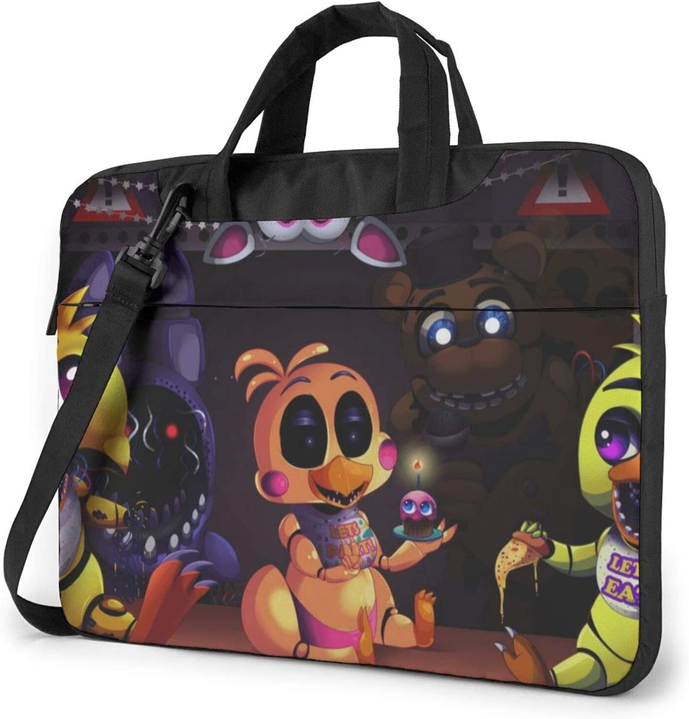 Five Nights at Freddy's Laptop Bag Tablet Portable Briefcase Protective Case Cover Messenger Bags 15.6 inch