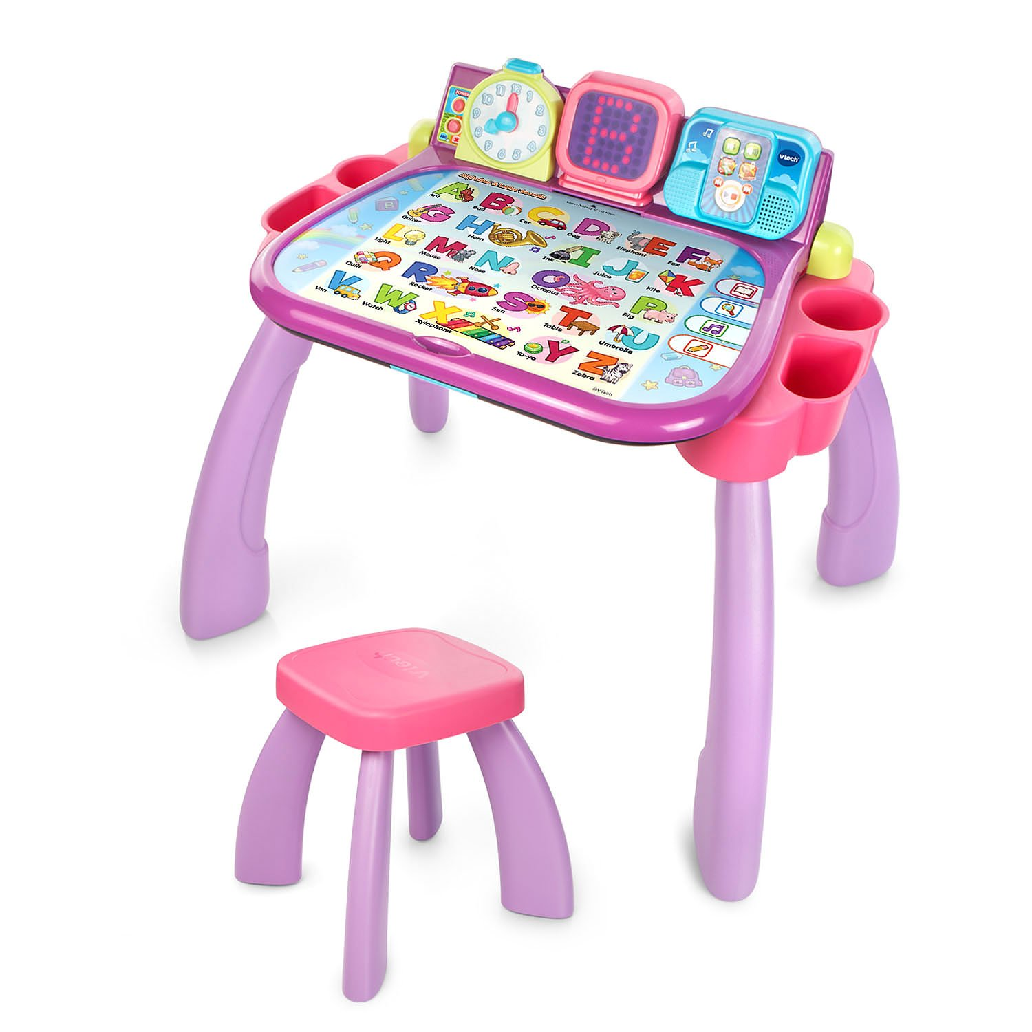 VTech Touch and Learn Activity Desk, Purple by VTech