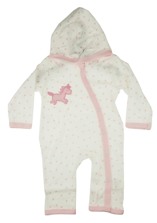 Glamour Girlz Super Soft Cute 100/% Cotton Baby Boys Girls Sleeper All in One Unicorn