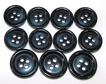 Nueva 11 pc italiano Tailors botón Set - Azul marino - para ...