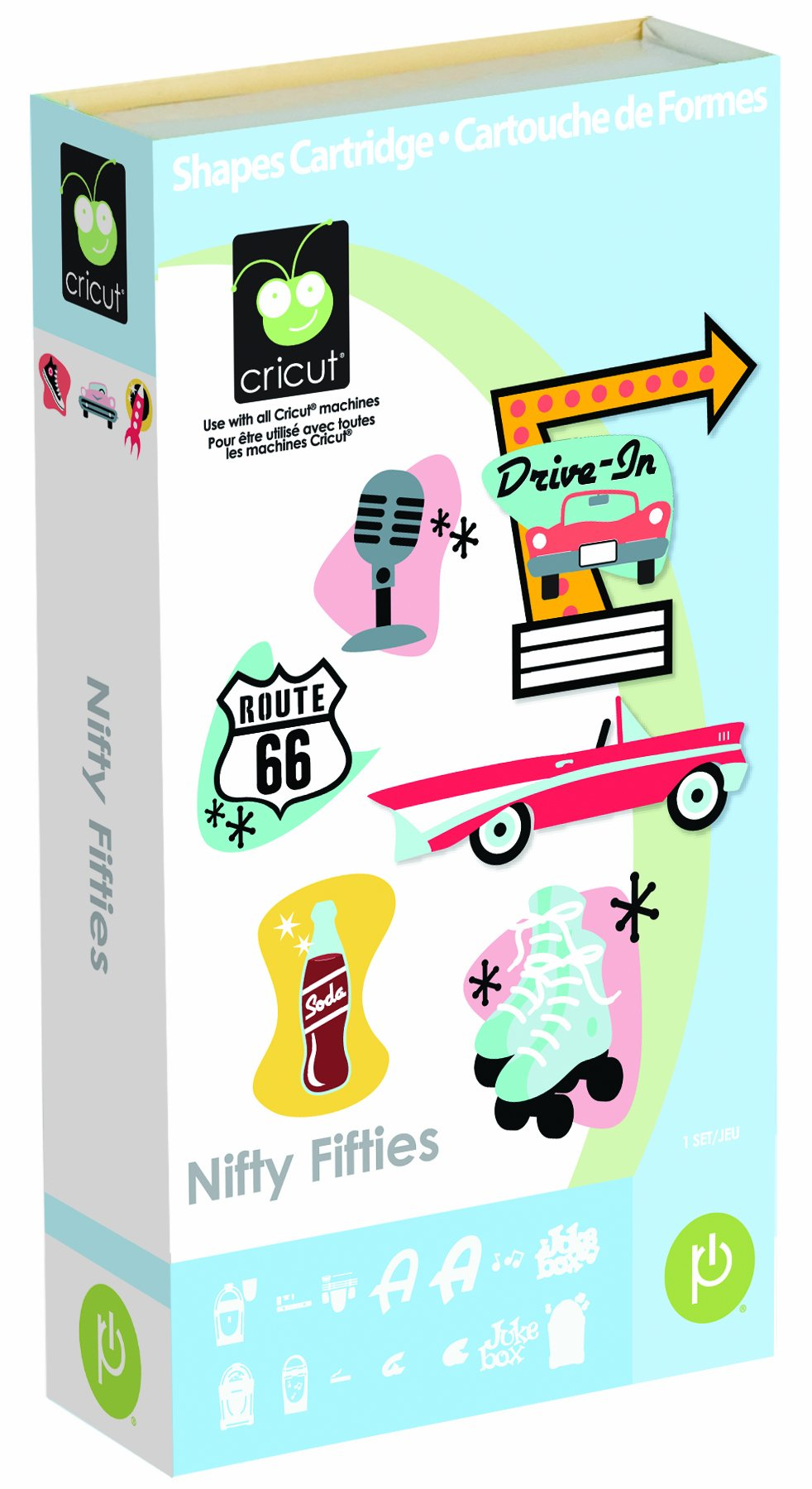 Provo Craft & Novelty Cricut Cartridge Nifty Fifties