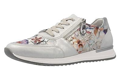 wholesale dealer b0ab5 2bbab Remonte Sneaker in Übergrößen Weiß R7002-90 große Damenschuhe