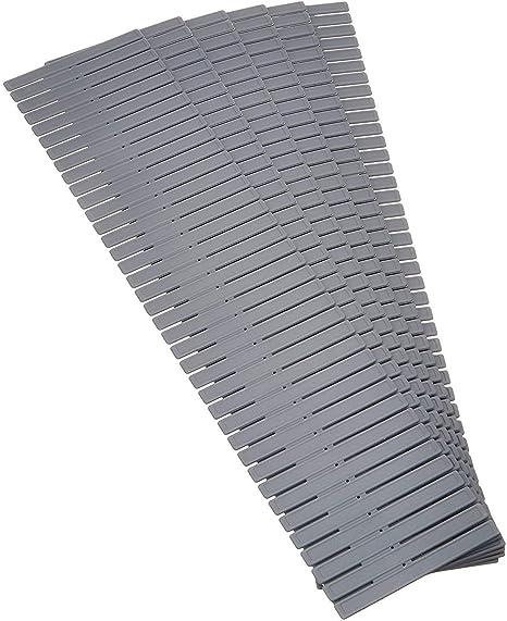7cm Verde Febbya Organizadores de Cajones,8 Pack Ajustable Divisor de Cajones Separadores Cajon Pl/ástico Separador de Armario para Ropa Interior Calcetines Corbatas Cinturones Cosm/éticos Hogar 32
