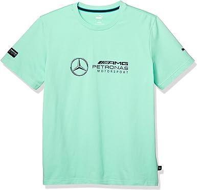 Puma Mercedes Amg Petronas Motorsport Logo Camisa Verde Hombre: Amazon.es: Deportes y aire libre