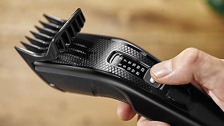 Philips Serie 3000 - Cortapelos con 13 posiciones y tecnologia Trim-n-Flow, incluye peine-guia