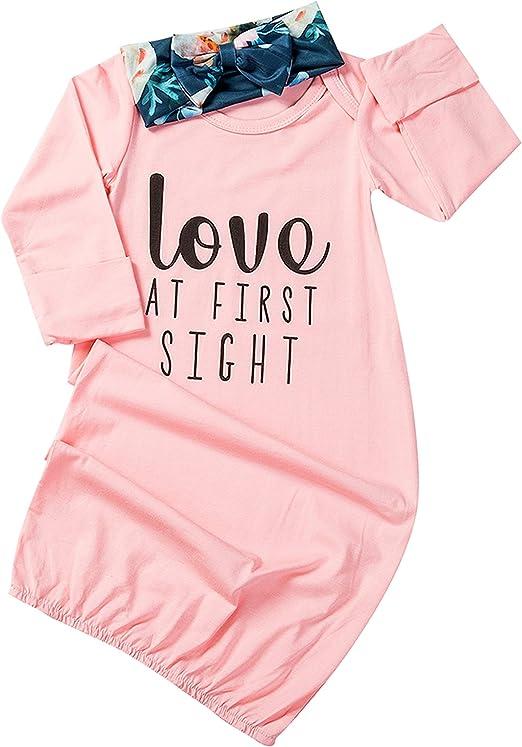 Amazon.com: Bebé recién nacido niña amor en el primer Sigth ...