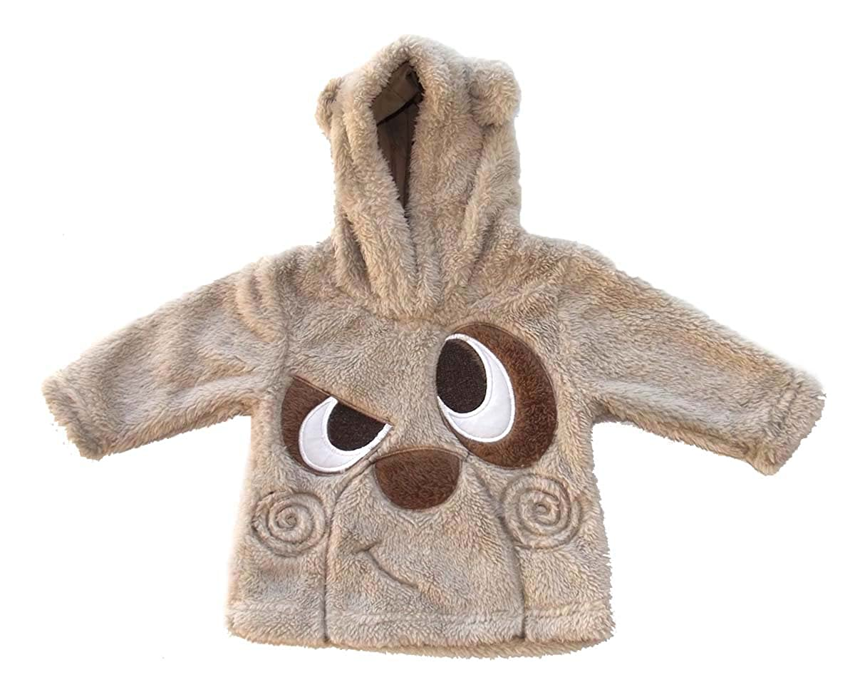 Prends ton pouce Baby Sweatshirt - grau - Pelz Effect - weich und warm