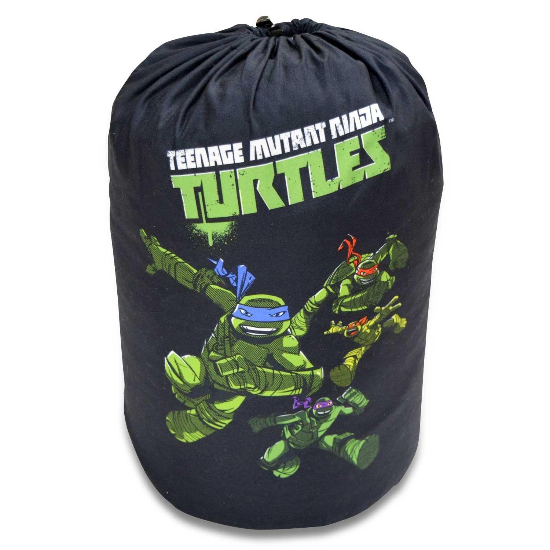 Cambay Linens Nickelodeon Kids Teenage Mutant Ninja Turtles Sleeping Bag Storage Bag, Black by Cambay Linens (Image #4)