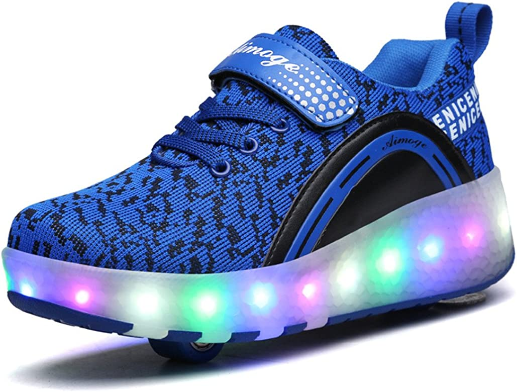 aimoge Roller Shoes Kids Shoes with