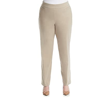 900f6870857 Studio Works Plus Size Millennium Pull On Pants at Amazon Women s ...